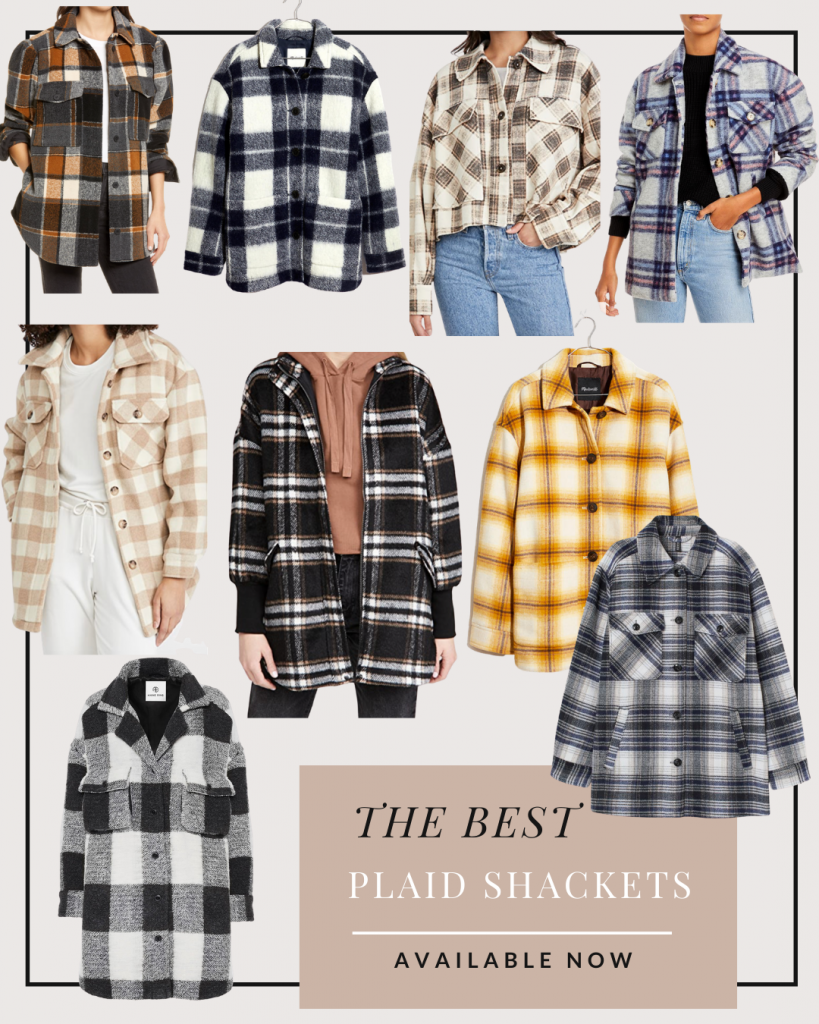 the best plaid shirt jackets and shackets