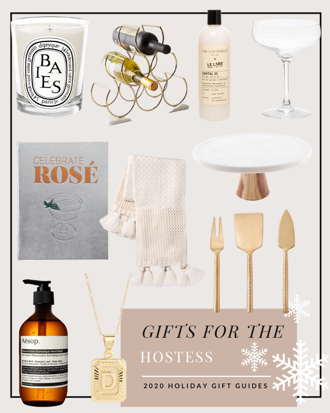 gift ideas for the hostess 2020