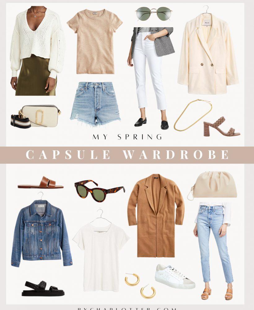 2021 spring capsule wardrobe