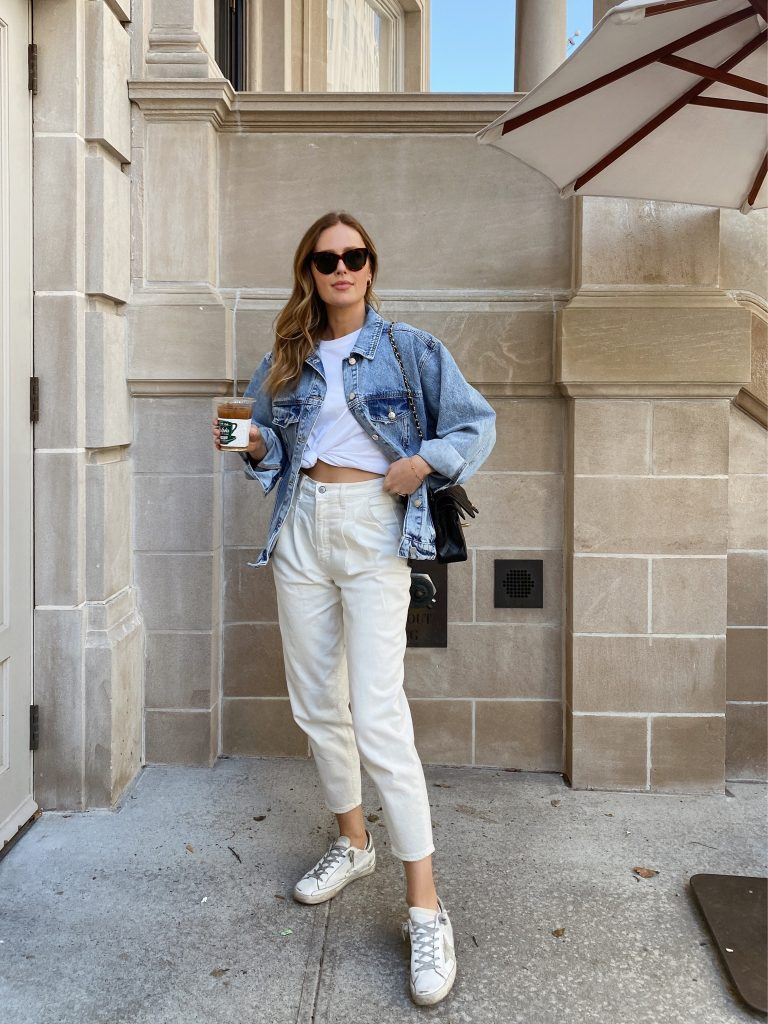 Abercrombie Ultra High Rise 80s Mom Jeans