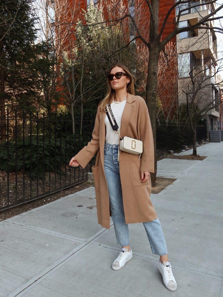 The Snapshot Leather Crossbody Bag