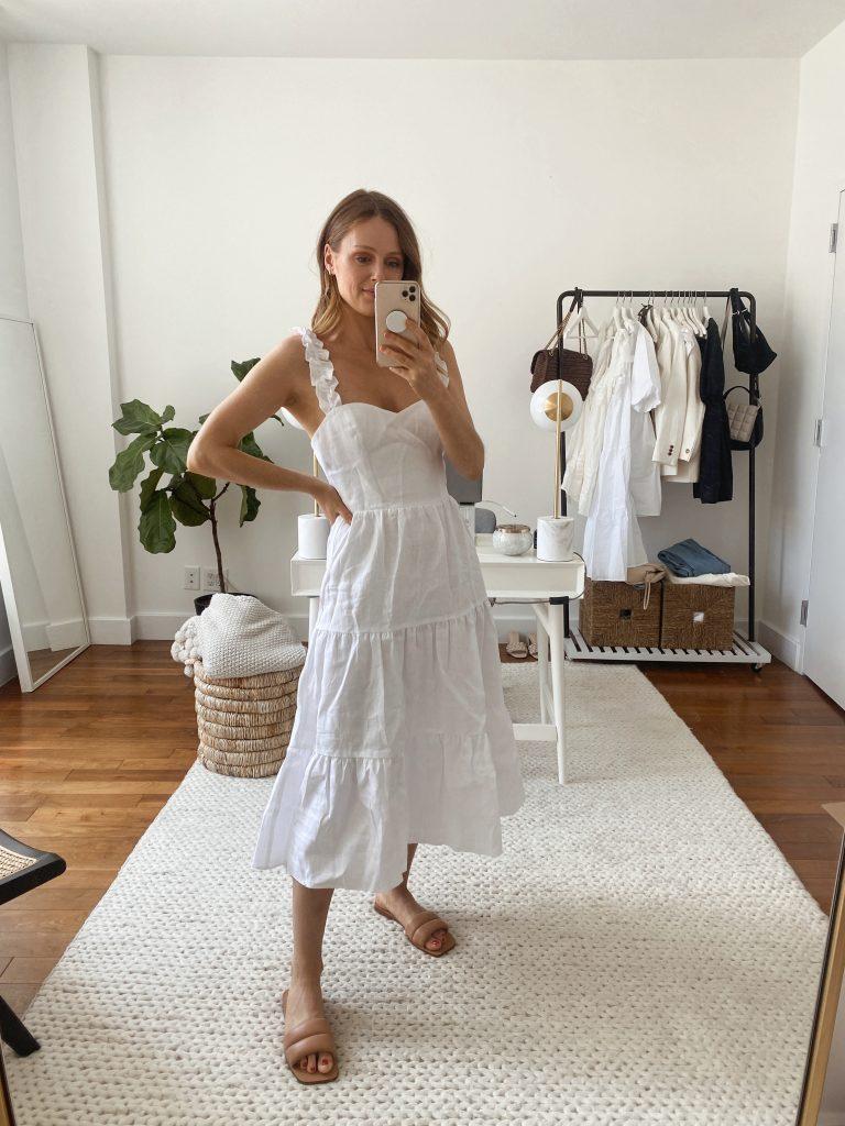 white dresses for spring/summer 2021