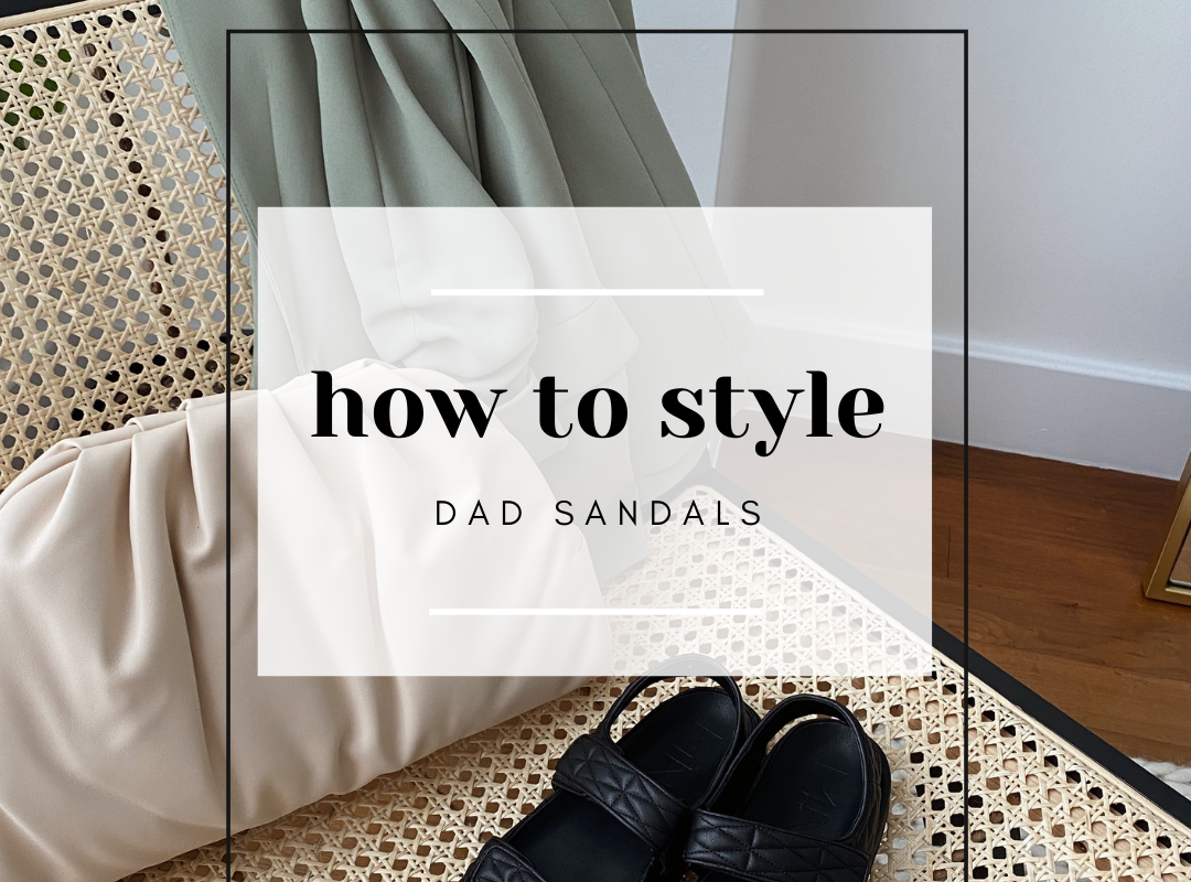 how to style quilted dad sandals