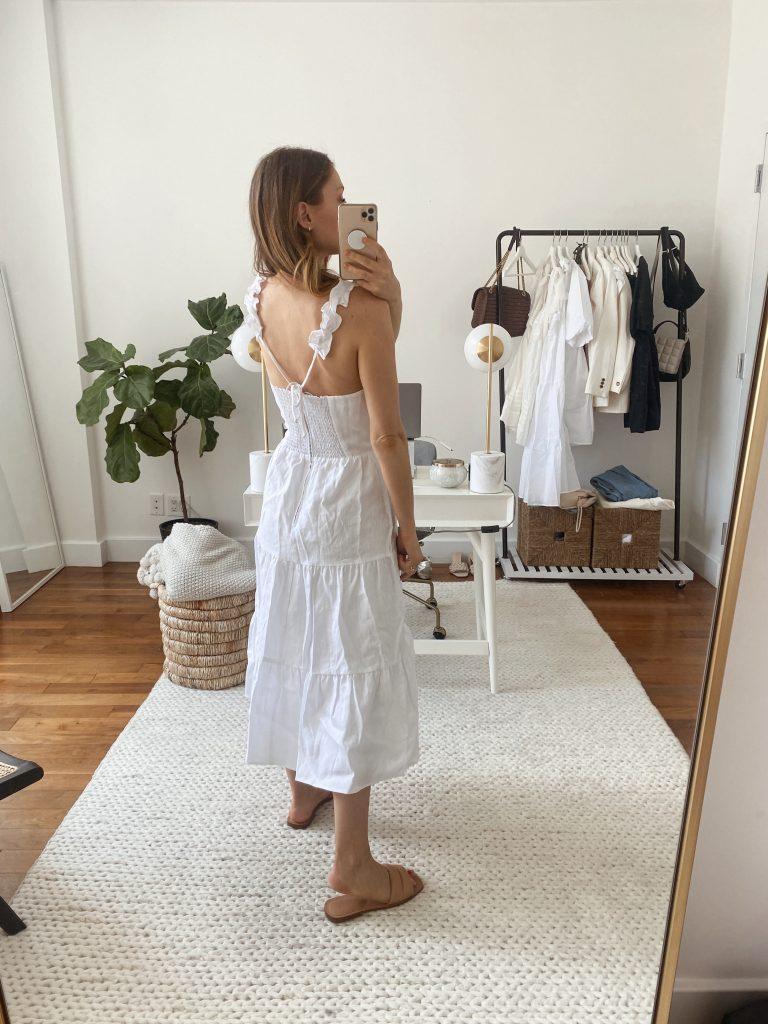 white spring/summer dresses 2021